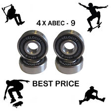 4 Velocity Abec 9 wheel bearings stunt scooter Skateboard Quad inline skate 7 11