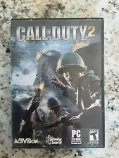 Call of Duty 2 for PC CD-ROM, 2005