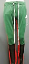 Men's Argonaut Color Block Track Pants - Green/Black