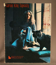 Carole King - Tapestry -  Piano Vocal Guitar Lyrics Text - Songbook 1971
