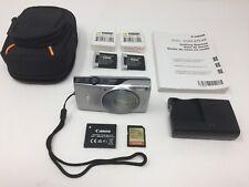 Canon PowerShot ELPH 350 HS 20.2MP Digital Camera, Excellent Condition, Extras