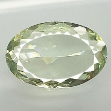 21.60 CT BEAUTIFUL BIG OVAL SHAPE100% NATURAL EARTH MINED GREEN AMETHYST