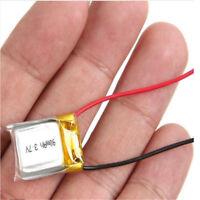1Pcs 3.7V 90mAh Polymer Lipo ion Battery For Mp3 GPS GPS Radio bluetoothPXJ
