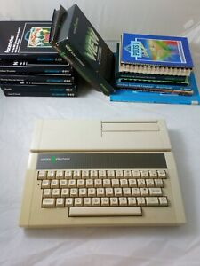 Acorn Electron and Acorn Electron Plus 1 + Games and Various User Guides
