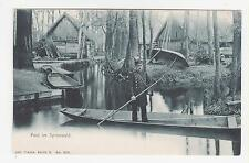 Burg Spreewald,Germany,Post im Spreewald,Mail Delivery on the River,c.1909