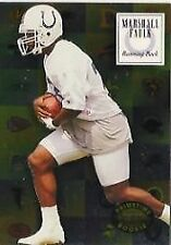 Classic Rookie Marshall Faulk Single Football Trading Cards