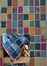 11 Bonnie B Buttons original quilt patterns in digital CD format Rag edge style