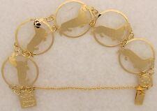 Dachshund Smooth Jewelry Gold Bracelet Special Sale