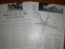 Artikel sollte Londoner 3rd Flughafen werden Stansted? 1967