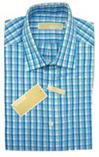 Camisa Vestir Hombre Michael Kors diseñador Regular Fit Ajuste Regular Algodón