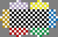 Play ~TAG~ Refrigerator Games- 6 Play Checkers Board Game Poster --Pick colors--