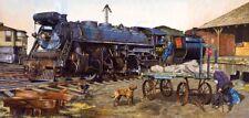 Jigsaw Puzzle Unwelcome Passenger Central Vermont Railroad 1000 Piece Train Art