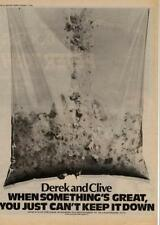 Derek & Clive Peter Cook Dudley Moore UK LP advert 1978 MM-DXCA
