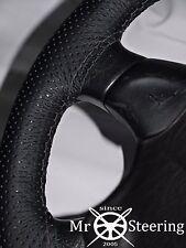 VOLANTE in Pelle Perforata Copertura Per Volvo VNL 780 CAMION grigia doppia STCH