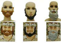 Details about  /Jim Belushi Celebrity Mask Card Face and Fancy Dress Mask Beard