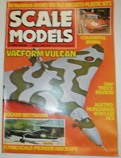 Scale Models Magazine Vacform Vulcan & DAF Truck Review March 1982 040915R