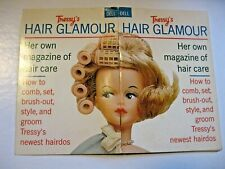 Tressy Hair Glamour Booklet ~ Dell Purse Book ~ 1964 ~ Magazine Of Hair Care
