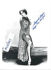 "Suzanne Lloyd ""The Twilight Zone"" Autographed Signed 8 1/2 x 11 COA #2 as ""Maya"""