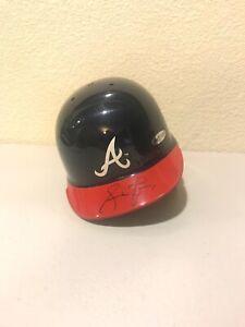 Andrew Jones Signed Atlanta Braves Mini Helmet Upperdeck