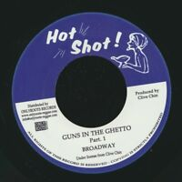 "NEW 7"" Broadway (Abe Rodway) - Guns In The Ghetto  /  Randy's All Stars - Guns I"