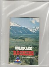1977 78 Colorado Rockies Yearbook/Media Guide Don Cherry Playoff Year Barry Beck