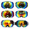 Adults Snowboard Snowmobile Professional Ski Snow Goggles Anti Fog UV Double-Len