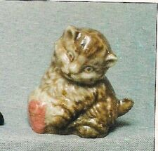 Wade Kitten Whimsie Set 1, 1971 With Picture Box