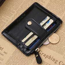Hombre carpeta Cartera Billetera Tarjetero Monederos tarjetas crédito nhgnh
