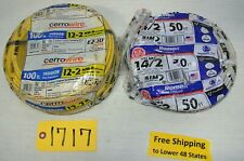 Indoor Wire 100' Cerrowire 12-2 NM-B & 50' Romex Wire NM-B 14/2 Electrical