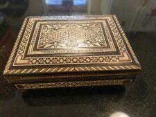 Gorgeous Inlaid Wood Jewelry / Music Box