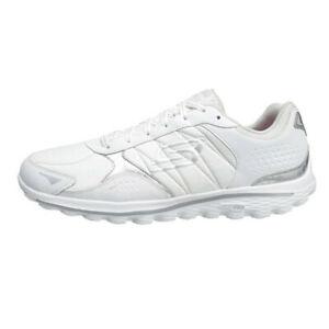 Womens Skechers Go Walk 2 Lynx LT Golf Shoes White / Silver Sz 10 M