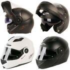 Nitro Flip Up Helmet F345 DVS Motorcycle Bike Road Crash Full Face Helmet