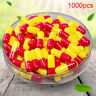 1000Pcs Multicolor Empty Gelatin Capsules Pill Vcaps Gel Halal Separated Box~OJ