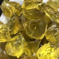 2.2lb Brazil's beautiful natural Lemon crystal rough mineral crystal specimens
