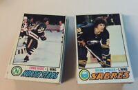 1977-78 Topps Hockey Singles You Pick