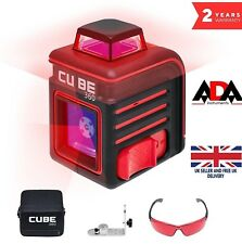 Laser Level 360° Self Leveling Cross Line + MOUNT Magnetic BRACKET ADA CUBE 360