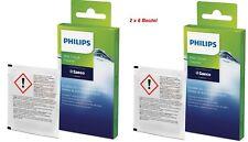 2 x Saeco Philips Milchreiniger Milk Cleaner CA6705/10 a 6 Btl.a 2g ,100g €74,96
