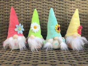 Set Of 4 Easter Gonks Gnome Easter Home Decor 2021