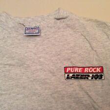 "VINTAGE MILWAUKEE RADIO STATION PURE ROCK LAZER 103 ""ROCKSTOCK"" SHIRT SIZE XL!!!"
