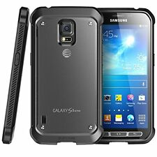 New Samsung Galaxy S5 Active G870A 16GB AT&T Unlocked Titanium Gray Smartphone
