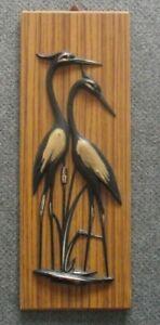Altes Bild mit Flamingos von meinem Opa wie neu
