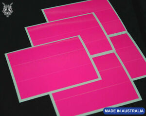 "15 HOT FLUORO PINK Arrow Wraps 6x1"""