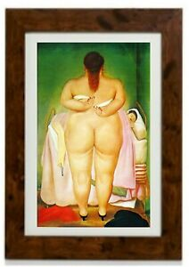 The morning After Framed Print by Fernando Botero