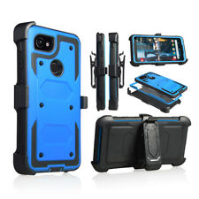 Google Pixel 2 XL Shockproof Holster Belt Clip Stand Heavy Duty Phone Case
