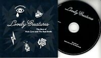 NICK CAVE & THE BAD SEEDS Lovely Creatures Sampler 2017 UK 8-trk promo CD purple