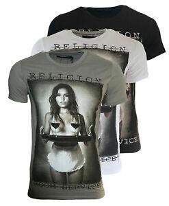 RELIGION Clothing Herren T-Shirt ROOM SERVICE