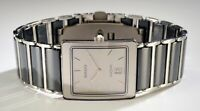 Rado Ladies Watch Diastar Quartz 28x 36mm Ceramic 160.0318.3N LQQK!