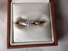 Ernest Jones White Gold Fine Rings