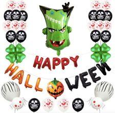Monster Head Foil balloons Halloween Helloween Set Spooky party decorations Foil