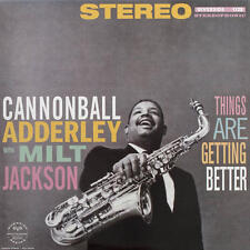 Cannonball Adderley With Milt Jackson - Things Are Getting Better LP REISSUE NEW